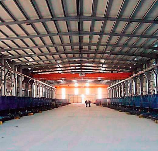 Planta de prefabricados de Hormigón en Ben Slimane (MARRUECOS)