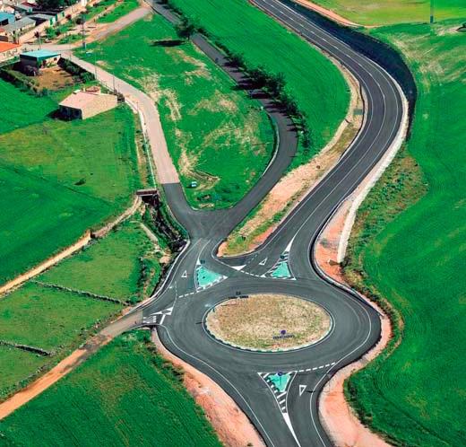 Acondicionamiento de la carretera CM-3216