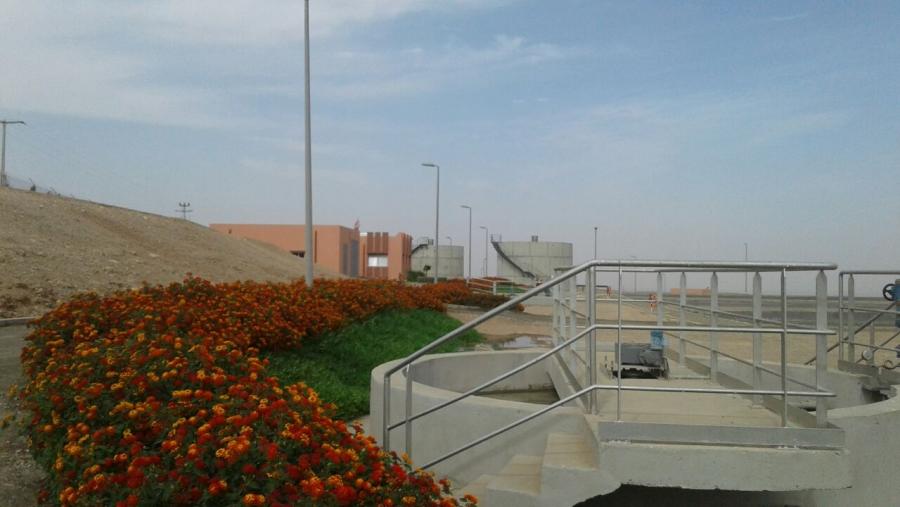 Estacion Depuradora de IMINTANOUTE (MARRUECOS)
