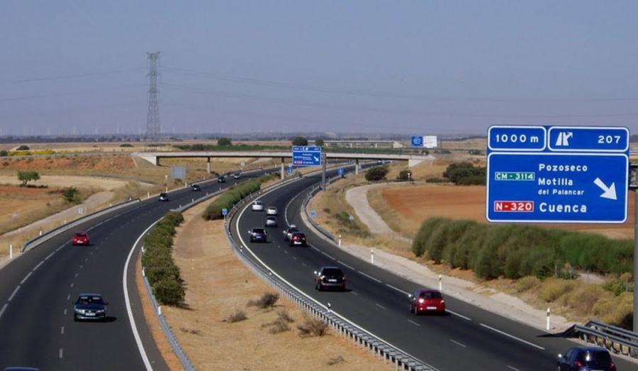 Mantenimiento y conservación autovía A3 en la provincia de Cuenca