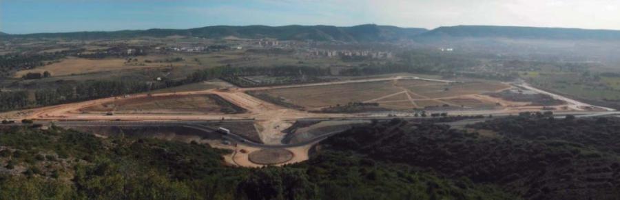 Urbanización de área dotacional El Terminillo (Cuenca)