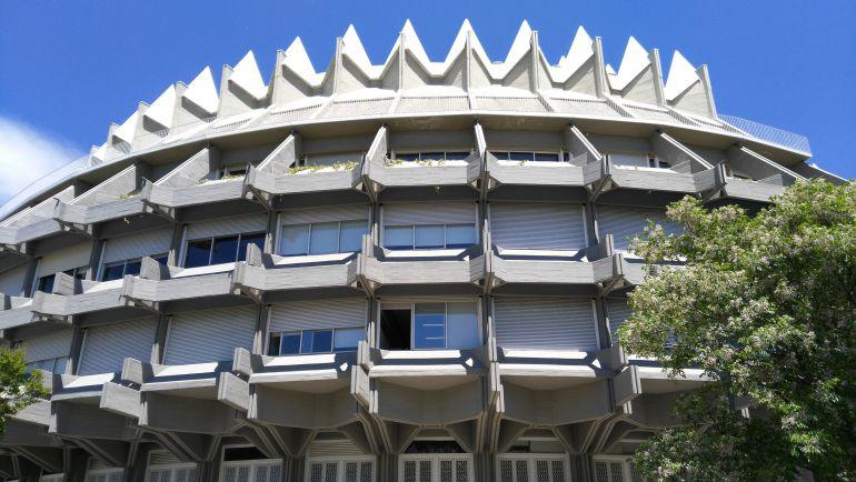 Fachadas IPCE en la Ciudad Universitaria (Madrid)