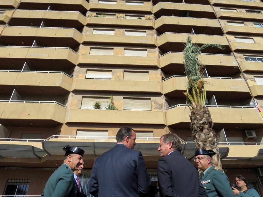 Rehabilitación cubiertas cuartel Guardia Civil en Gandía (Valencia)