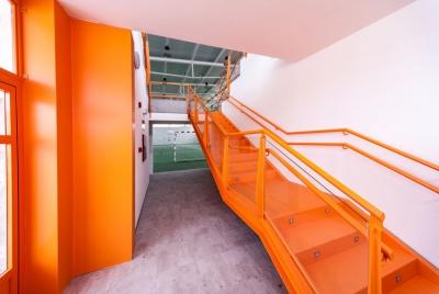 imagen Construccion de Pabellon Polideportivo Tipo C en el CEIP Tomas Romojaro en Fuensalida (Toledo)