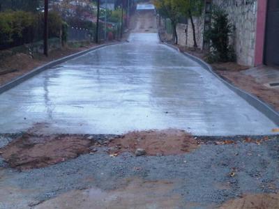 imagen Red saneamiento y pavimentacion en Valdemaqueda (Madrid)