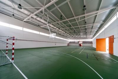 Construccion de Pabellon Polideportivo Tipo C en el CEIP Tomas Romojaro en Fuensalida (Toledo)
