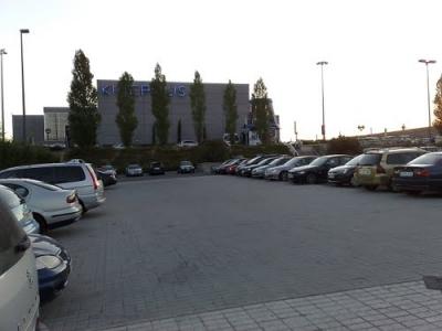 imagen Pintura Parking Kinepolis Madrid