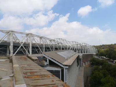 Impermeabilizacion cubierta Centro de Tecnificacion Deportiva de Alicante