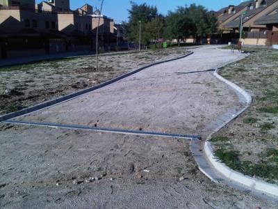 Adecuación del parque sito entre las calles Avda. Madrid, Aladierna y Concepción, Villanueva del Pardillo