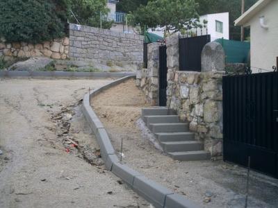 Pavimentacion y Mejora de C/Sol y Monte en Zarzalejo (Madrid)