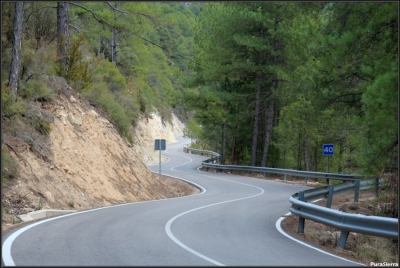 Mejora de firme en la carretera de Poyatos (Cuenca)