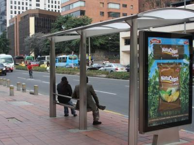 Construccion de paraderos, señales y obras civiles para la implementacion del sistema integrado de transportes público SITP en Bogotá D.C (COLOMBIA)