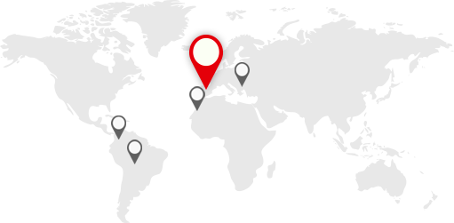 mapa internacional